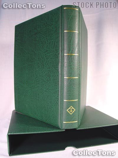 Lighthouse OPTIMA-F Binder and Slipcase in Green