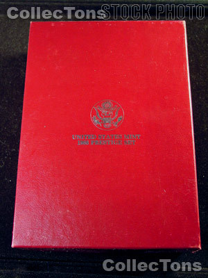 1988 PRESTIGE PROOF SET Deluxe OGP Replacement Box and COA