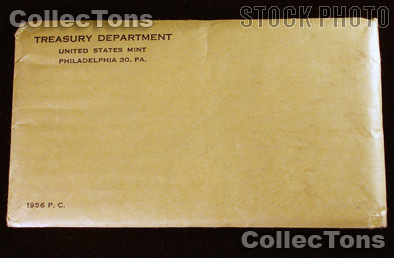 1956 PROOF SET * ORIGINAL * 5 Coin U.S. Mint Flat Pack Proof Set