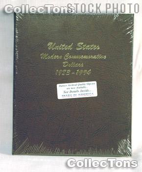 Dansco Commemorative Dollars 1983-1994 Album #7065