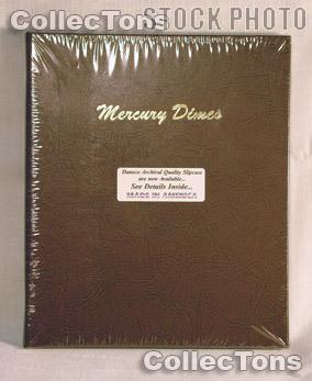 Dansco Mercury Dimes Album #7123