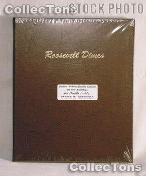 Dansco Roosevelt Dimes 1946-Date Album #7125