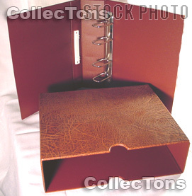 Lighthouse OPTIMA-G Binder and Slipcase in Brown
