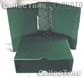 Lighthouse OPTIMA-G Binder and Slipcase in Green