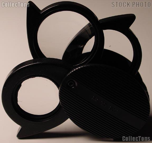 Bausch & Lomb Foldaway 5X 7X 9X 20X Pocket Magnifier