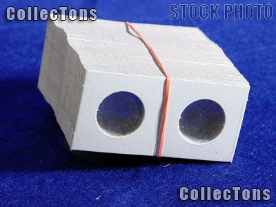 5,000 1.5x1.5 Cardboard Coin Holders NICKELS