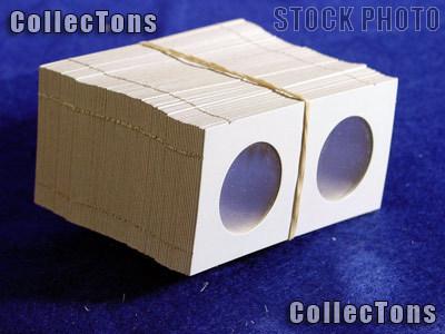 100 2x2 Cardboard Coin Holders HALF DOLLARS