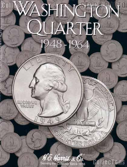 Harris Washington Quarters 1948-1964 Coin Folder  2689