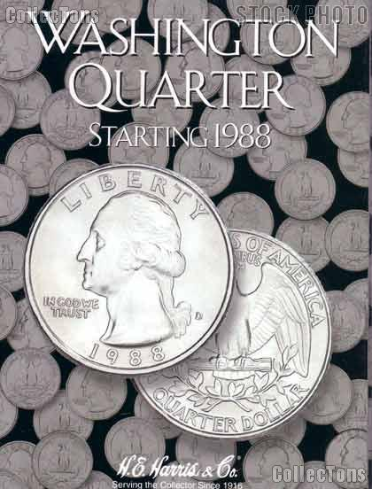 Harris Washington Quarters 1988-1998 Coin Folder  2691