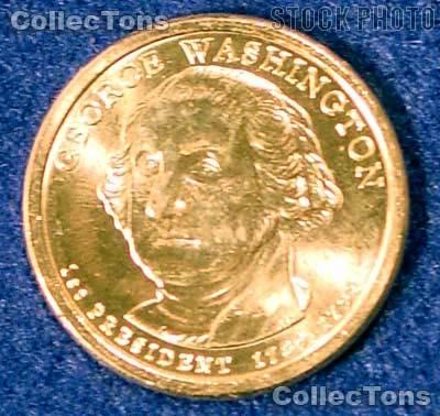 2007 P&D Washington Presidential Dollar GEM BU 2007 Washington Dollars