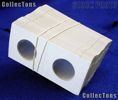 100 2x2 Cardboard Coin Holders SMALL DOLLARS