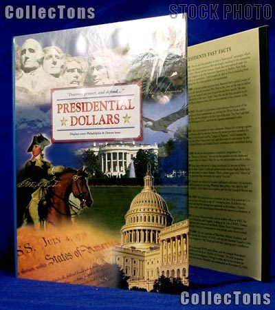Littleton Presidential Dollars P&D Coin Folder LCF36