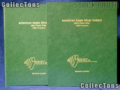Intercept Shield Coin Album For US Eisenhower Dollars 1971-1978 Free Slipcase