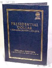 Whitman Presidential Dollar P&D Deluxe Folder #2382