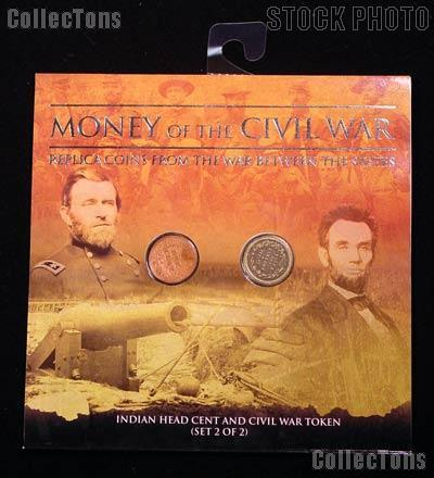 Whitman Money of the Civil War Replica Coin Set #2