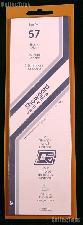 Showgard Strip Style Black Stamp Mounts Size 57