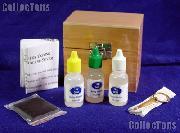 Gold Testing Kit - Test Needles - Solution - Stone