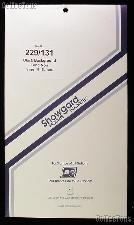Showgard Pre-Cut Black Stamp Mounts Size 229/131