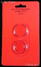 """Air-Tite Coin Capsule Direct Fit """"A19"""" Coin Holder for CENTS"""