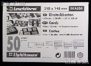 50 Lighthouse Approval Cards 5-Strip Cardboard EKA5DS