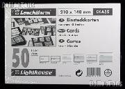 50 Lighthouse Approval Cards 5-Strip Cardboard EKA5S