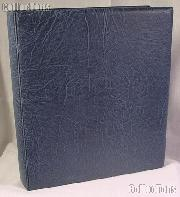 Lighthouse Classic GRANDE F Coin Binder in Blue