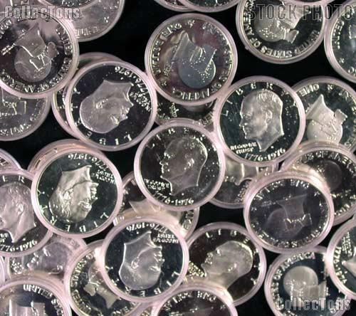 1976-S Silver Ike Eisenhower Dollar - Proof in Capsule