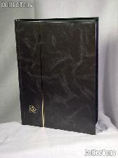 Stamp Stockbook 32-Black Page Stamp Album Lighthouse LS4/16 Black