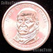 2008-D John Quincy Adams Presidential Dollar GEM BU 2008 Adams Dollar