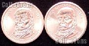 2008 P&D John Quincy Adams Presidential Dollar GEM BU 2008 Adams Dollars
