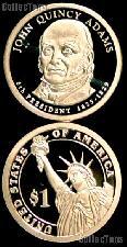 2008-S John Quincy Adams Presidential Dollar GEM PROOF Coin
