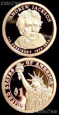 2008-S Andrew Jackson Presidential Dollar GEM PROOF Coin