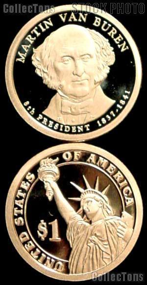 2008-S Martin Van Buren Presidential Dollar GEM PROOF Coin