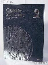 Whitman Canada 25 Cents 1990 - 2000 Folder #2484