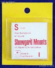 Showgard Pre-Cut Clear Stamp Mounts Size S31/31