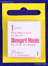 Showgard Pre-Cut Clear Stamp Mounts Size T25/27