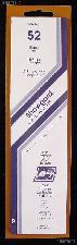 Showgard Strip Style Black Stamp Mounts Size 52