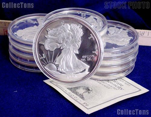 Half Pound Silver Eagles From The Washington Mint