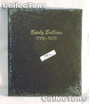 Dansco Early Dollars 1794-1803 Album #6170