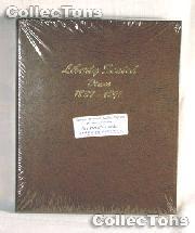 Dansco Liberty Seated Dimes 1837-1891 Album #6122
