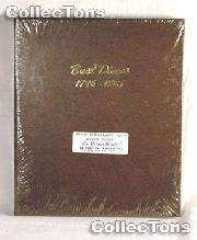Dansco Bust Dimes 1796-1837 Album #6121