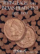 Harris Flying Eagle & Indian Cents Coin Folder  2671