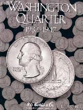Harris Washington Quarters 1932-1947 Coin Folder  2688