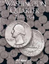 Harris Washington Quarters 1948-1964 Coin Folder  2689