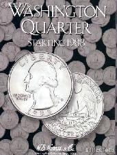 Harris Washington Quarters 1988-1998 Coin Folder  2691