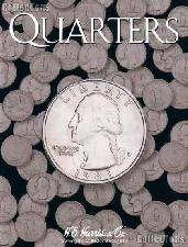Harris Blank Coin Folder for Quarters  2692