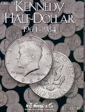 Harris Kennedy Half Dollars 1964-1984 Coin Folder  2696