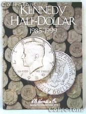 Harris Kennedy Half Dollars 1985-1999 Coin Folder  2697