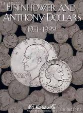 Harris Ike & SBA Dollars 1971-1999 Coin Folder 2699