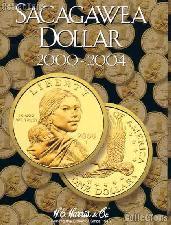 Harris Sacagawea Dollars 2000-2004 Coin Folder 2715